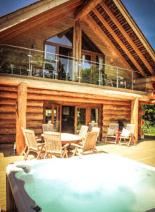 Foxglove Cabin in Cumbria - Luxury Log Cabins with Private Hot Tubs